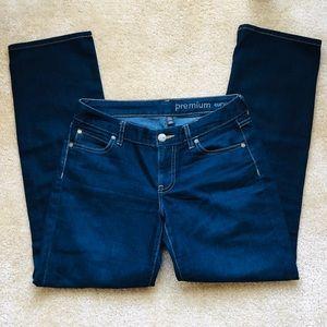Gap Premium Curvy Straight Jeans 4/27S Short Ankle